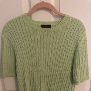 Brooks Brothers 346 cable knit sweater size L